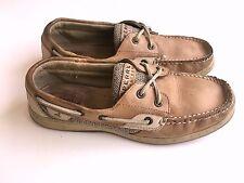 Women's SPERRY Bluefish 2-Eye Boat Shoes Linen Oat 9276619 Size 9 M