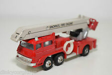 SHINSEI MINI POWER SNORKEL FIRE ENGINE FIRE TRUCK VERY NEAR MINT CONDITION