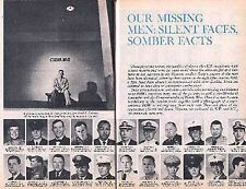 Vietnam Pow & Mia 1971 Pictorial: Our Missing Men: Silent Faces Somber Facts