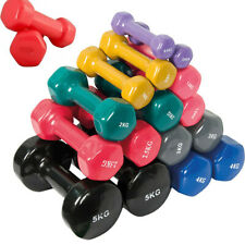 Peso palestra manubrio 1 2 3 4 5 6 kg fitness allenamento esercizi pesi manubri