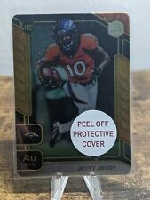 2020 Panini Elements JERRY JEUDY RC GOLD #34/91 SSP, DENVER BRONCOS