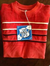 RED ' The one United' mens T-shirt in Large
