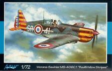 "Azur 1/72 Morane-Saulnier MS.406C.1 ""Red & Yellow Stripes"" # 114"