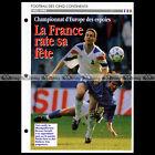 #032.11 Championnat Europe Espoirs 1993-1994 Photo BRUNO CAROTTI Fiche Football