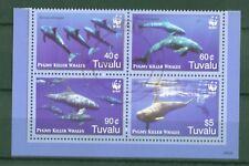 Tuvalu 2006 - Wale Zwerggrindwal WWF Whales Baleines Balene - 1307-10 gestempelt