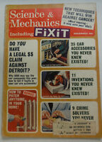 Science & Mechanics Magazine 11 Inventions You Never Knew December 1965 050515R