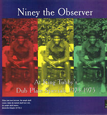 "LP 12"" 30cms: Niney the Observer at king tubby's: dub plate specials 1973-1975."