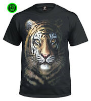 TIGER FACE T-Shirt/Biker/Tattoo/Gift Lion/Tiger/Wild/Hunter/Xmas/XS - 3XL/Top