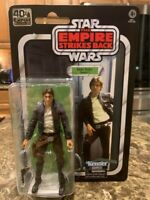 Star Wars ESB The 40th Anniversary Han Solo Bespin Action Figure