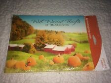 Hallmark Thanksgiving Greeting Cards - Set of 6 - Holiday Fall Autumn Halloween
