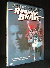 Running Brave (DVD, 2005) DEAD-MINT•NEW-OPEN•USA•Out-of-Print•Robbie Benson•Rare