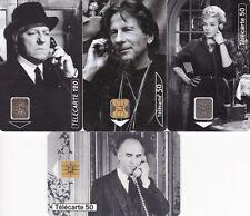 Telefonkarten Frankreich Filmschauspieler