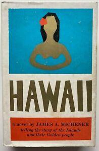 1960 1st Hawaii, James Michener, FREE Express Aust