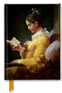 Flame Tree Journal: Young Girl Reading  Jean-Honoré Fragonard (Hardcover, Foil)