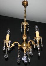 Brass Vintage/Retro 1-3 Lights Ceiling Chandeliers