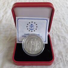 ISOLA di Man 1996 15 EURO LA BOHEME SILVER PROOF Crown-boxed/COA