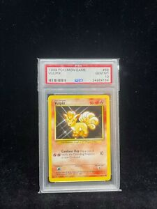 Pokemon Base Set Vulpix 68/102 - 1999-2000 Print - Graded Card PSA 10