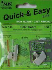 CMK 1/32 F-86F Sabre Instrument Panel # Q32144
