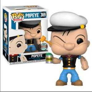 FUNKO POP Cartoon Movie Cute POPEYE 369# Vinyl Action Figure Collection Model Do