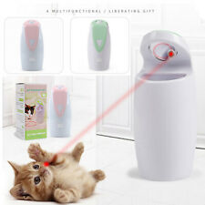 Pet Toy USB Automatic Rotating LED Infrared Laser Light Cat Interactive