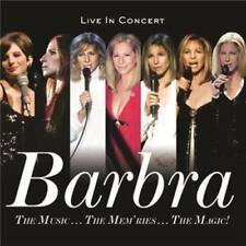 BARBRA STREISAND The Music... The Mem'ries... The Magic! Live 2CD NEW Digipak