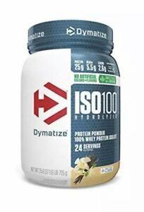 Dymatize ISO100 Hydrolyzed Protein Powder, 100% Whey 1.6 Pound Free Shipping!