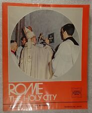 Very Rare, Hard to Find Rome The Holy City 1975 Bellomi Edizioni Verona 1st edit