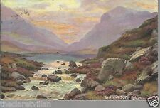 Gap of Dunloe Killarney, Kerry  Artist E. Longstaffe 1904 Unposted Postcard