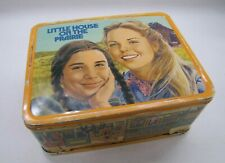 AUCTION 1978 Vtg Little House on the Prairie Metal Lunch Box with Thermos Set