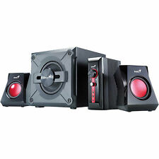 GENIUS Lautsprecher SW-G 2.1 1250 2.1 Lautsprecher mit 38 Watt