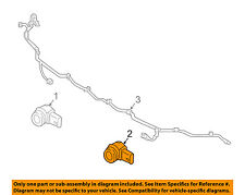 NISSAN OEM 16-17 Titan XD Parking Aid-Sensor 25994EZ01A