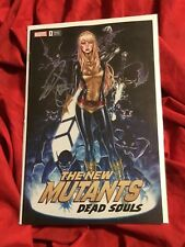 NEW MUTANTS DEAD SOULS #1~CSA TRADE DRESS VARIANT EXCLUSIVE~SIGNED MARK BROOKS~