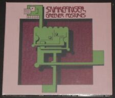SNAKEFINGER greener postures EUROPE CD new sealed BONUS TRACKS the residents