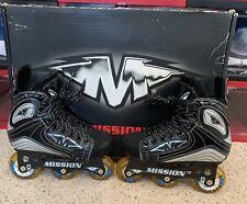 Mission Inhaler Hi-Lo Inline Roller Hockey Skates Size Youth 11E Mint Condition!