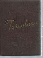 NE-033 - The Tusculana 1947, Tusculum College Yearbook Annual Tennessee Vintage