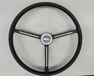 1275 GT Steering Wheel And Original Center Cap.