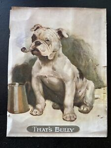 Antique Cecil Aldin Bulldog Thats Bully Early 1900s Print
