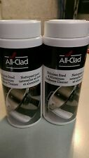 New All Clad 12 oz. Stainless Steel and Aluminum Cookware Cleaner and Polish SET