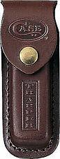 Case XX Brown Leather Trapper Knife Belt Sheath 980