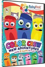 Babyfirst - Color Crew New Adventures [New DVD]