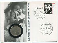 5 Reiksmark 1934 Silver Coin Third Reich Germany 1993 Potsdam Numisbrief