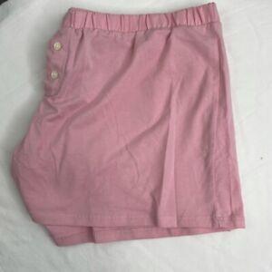 J.Crew Women's Dreamy Pink Pajama Shorts Size M