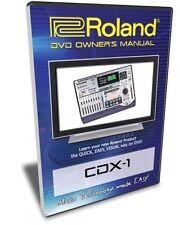 Roland CDX-1 DiscLab DVD Video Training Tutorial Help