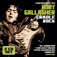 RORY GALLAGHER New Ltd 2018 PREVIOUSLY UNRELEASED 1974 LIVE CONCERT 2 CD SET