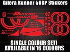 GILERA Runner 50sp calcomanías/Pegatinas-Todos Los Colores Disponibles - 172 183 Gilly