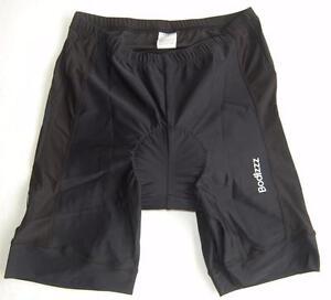 Bodizzz Cycling Bike Knicks padded shorts BIG SIZE UnisexBlack XL 2XL3XL 4XL 5XL