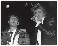 GEORGE MICHAEL PHOTO WHAM  UNRELEASED UNIQUE HUGE IMAGE1984 HAND PRINTED RAREGEM