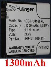 Batterie 1300mAh art HB4J1 HB4J1H Für Huawei C8500S