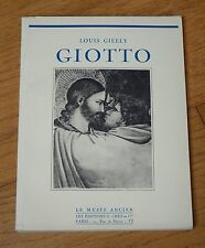 LE MUSEE ANCIEN : LOUIS GIELLY - GIOTTO - EDITIONS G.CRES ET CIE 1931