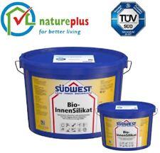 Bio Innen Silikat Südwest 2,5 Liter Allergiker Wandfarbe Farbe - TÜV+Nature Plus